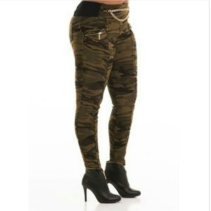 Pants - Camouflage Flannel Lined Pants